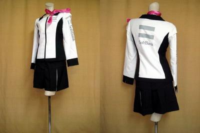 ソフトバンクキャンペーンガールの制服